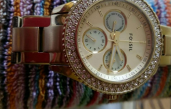 Fossil Women watch used once!!, ₱ 6,800.00